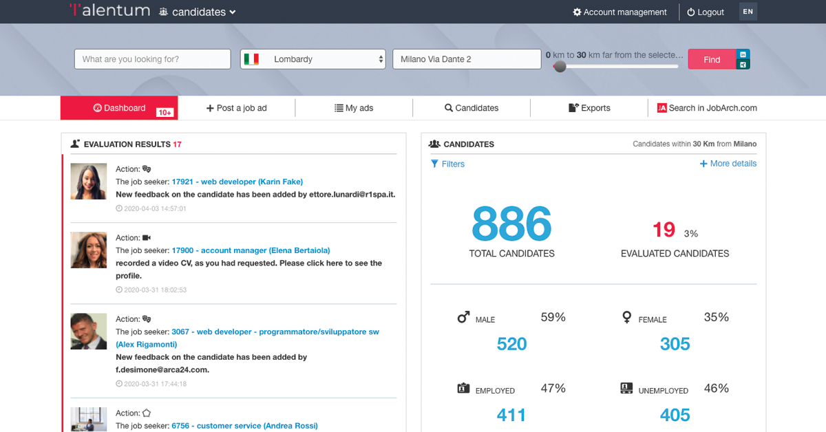 webinar talentum - applicant ranking system