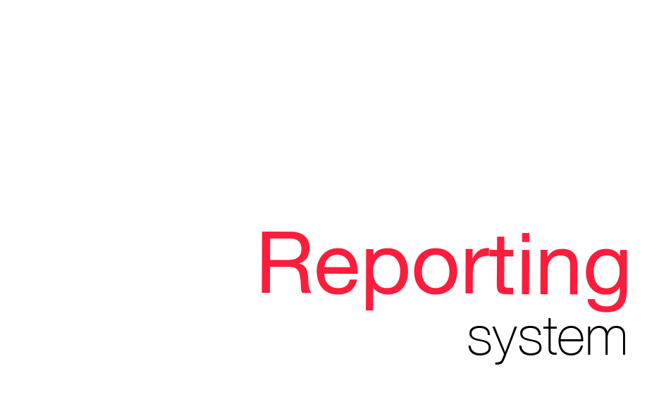 All the Arca24 software have an integrated reporting system