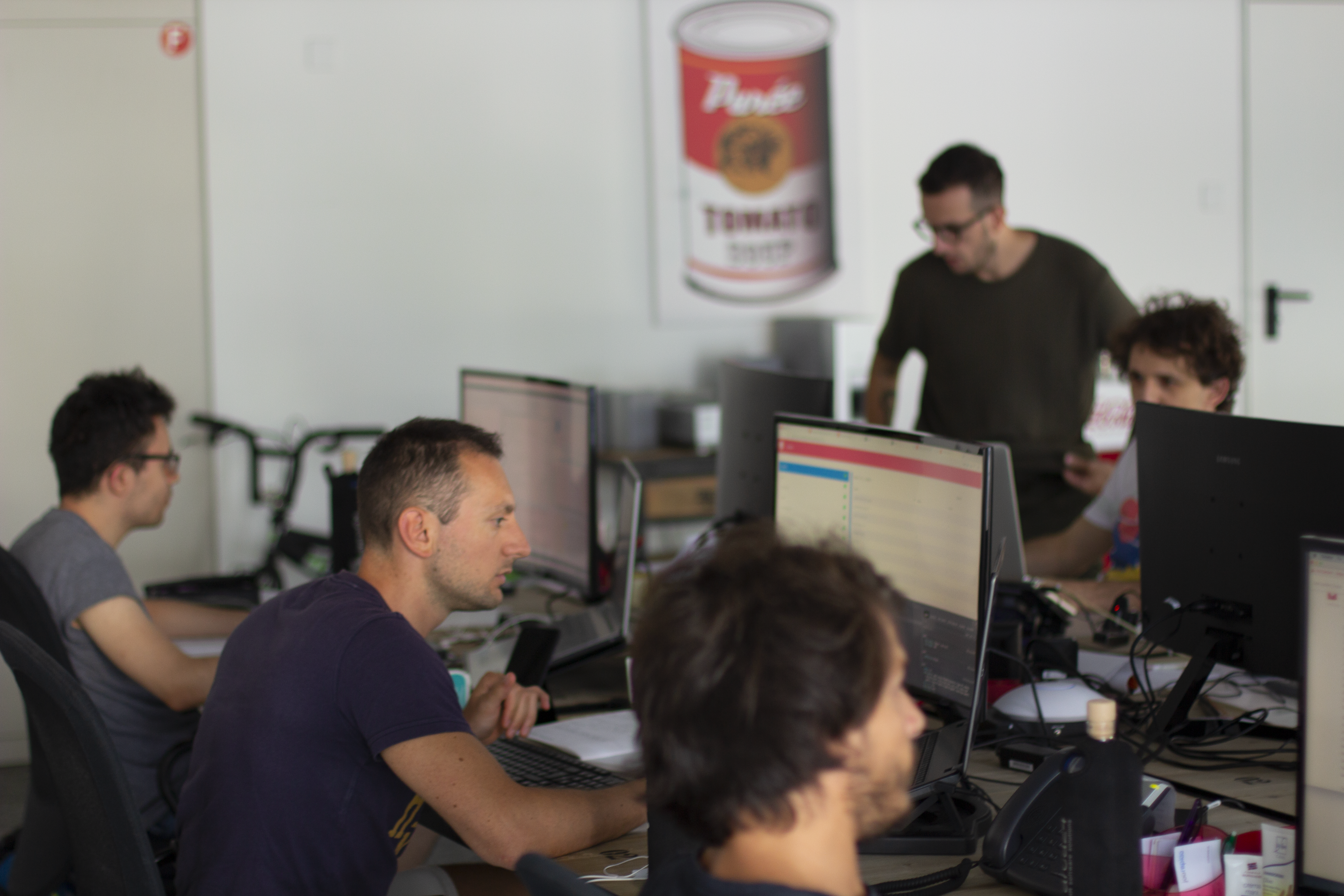 Arca24 has an operational offices and a team of developers