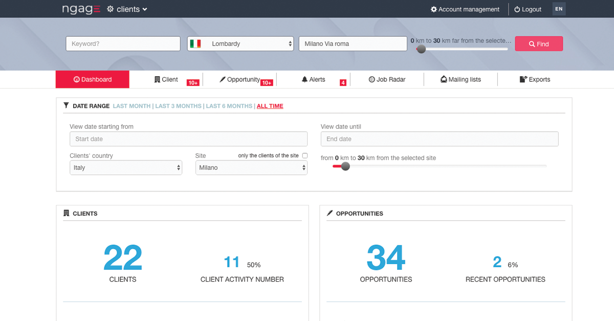 How to manage customers and candidates with an all-in-one solution
